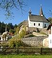 Frauenstein Kraig Kapelle hl Ulrich und Propsteikirche hl Johannes d T 15102006 12.jpg