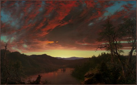 Landscape painting by Frederick Edwin Church