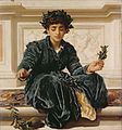 Frederic Leighton - Weaving the Wreath.jpg