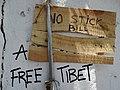 Free Tibet Graffito - McLeod Ganj - Himachal Pradesh - India (26162669723).jpg