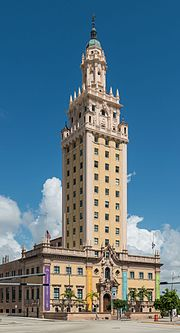 Miami wikipedia the freedom tower built in 1925 is miamis historical landmark malvernweather Choice Image