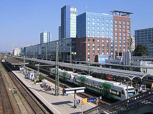 Karlsruhe–Basel high-speed railway - Freiburg Hauptbahnhof