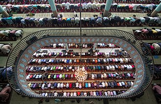 Baitul Mukarram National Mosque - Inside view of the Mosque
