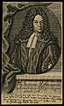 Friedrich Hoffmann II. Line engraving by J. G. Mentzel, 1716 Wellcome V0002817.jpg