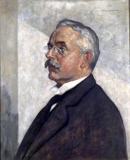 Friedrich Went door Hendrik Haverman, 1921