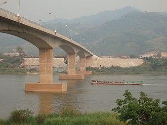 Fourth Thai–Lao Friendship Bridge - Image: Friendship Bridge panoramio (6)