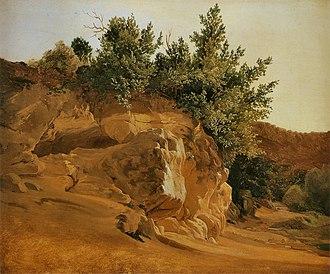 Fritz Petzholdt - Image: Fritz Petzholdt Étude de roches