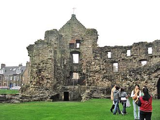 St Andrews Castle - A view from the courtyard St Andrews castle