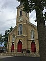 Front of church with red doors.jpg