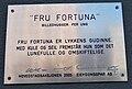 Fru fortuna (tabliczka informacyjna) Oslo.JPG
