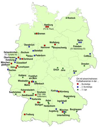 Немецкие футбольные лиги