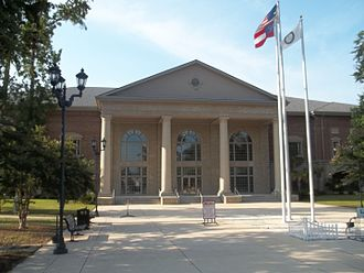 Camden County, Georgia - Image: GA Woodbine new Courthouse 01
