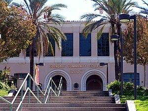 Glendale Community College (California) - The John A. Davitt Administration building