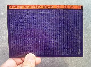 Microfiche example