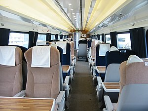 InterCity 225 - Project Mallard refurbished First Class carriage