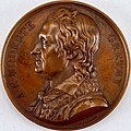 Galerie métallique des grands hommes français (Great Men of France) Medal, 1818 (CH 18154445) randlos.jpg
