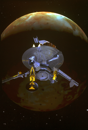Galileo encounter with Io