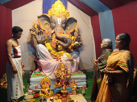 Ganesha is one of the best-known and most worshipped deities in the Hindu pantheon Ganapati.1..JPG