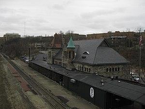 Ann Arbor station - Image: Gandy Dancer