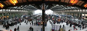 Gare de Lyon - Inside the station
