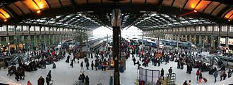 Gare de Lyon - Inside the station