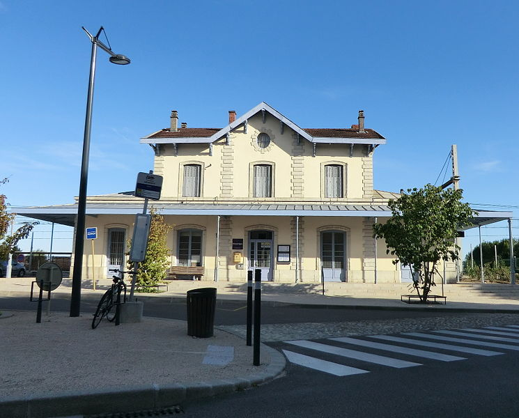 Gare de Meximieux - Pérouges.