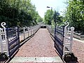 Garelochhead station exit, West Highland Line, Argyll and Bute. View looking north.jpg