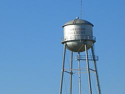 Water tower in Garrison