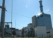 Ein CO2-Emittent: Gasheizwerk Linz-Mitte am Linzer Hafen.