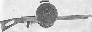 Gast gun German twin barrelled machine gun