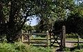 Gate, Lagan towpath, Belfast - geograph.org.uk - 1526847.jpg