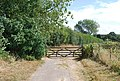 Gate on the High Weald Landscape Trail - geograph.org.uk - 1459870.jpg