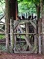 Gatter mit Elch Wildpark Alte Fasanerie Klein-Auheim Juni 2012.JPG