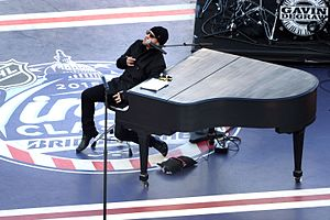 Gavin DeGraw - DeGraw performing at the 2015 NHL Winter Classic
