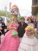 Gay Easter New Orleans 2013 Rampart High Hare Hat.JPG