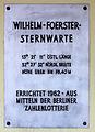 Gedenktafel Munsterdamm 90 (Steg) Wilhelm-Foerster-Sternwarte.jpg