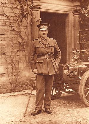 Francis Davies (British Army officer) - Sir Francis Davies, c.1916