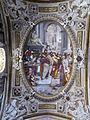 Genova, san matteo, int., volta con vocazione di s. matteo di giovanni battista castello detto il bergamasco, XVI sec.JPG