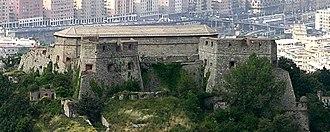 Genova - Panorama dai Camaldoli-part2-Forte di Santa Tecla.jpg