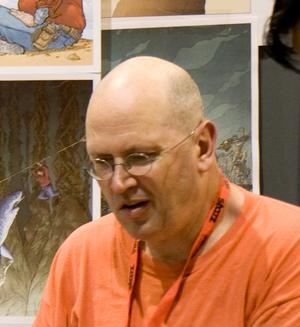 Geof Darrow - Geof Darrow at San Diego Comic Con 2009.