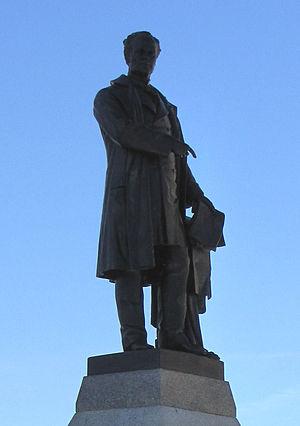 Louis-Philippe Hébert - Image: George Etienne Cartier statue