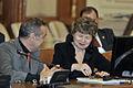 George Becali & Mona Pivniceru la comisia juridică din parlament (8770366492).jpg
