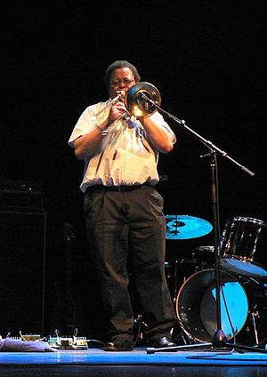 George Lewis (trombonist) - Photo by Andy Newcombe