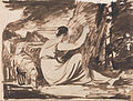 George Romney - Shepherdess Cutting an Inscription on a Tree - Google Art Project.jpg