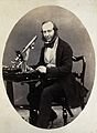 George Shadbolt. Photograph. Wellcome V0028367.jpg
