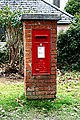 George vi post box at Playing Place - geograph.org.uk - 1204237.jpg
