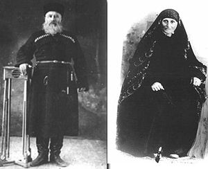 History of the Jews in Georgia - Georgian Jews of Tbilisi probably around 1900