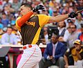 Giancarlo Stanton competes in semis of '16 T-Mobile -HRDerby. (28496633811).jpg