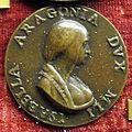 Giancristoforo romano, medaglia di isabella d'aragona, moglie di giangaleazzo sforza.JPG