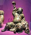 Giappone, daikoku in bronzo, 1750 circa.JPG